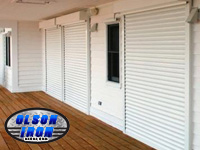 Rolling Shutters by Olson Iron in Las Vegas Nevada